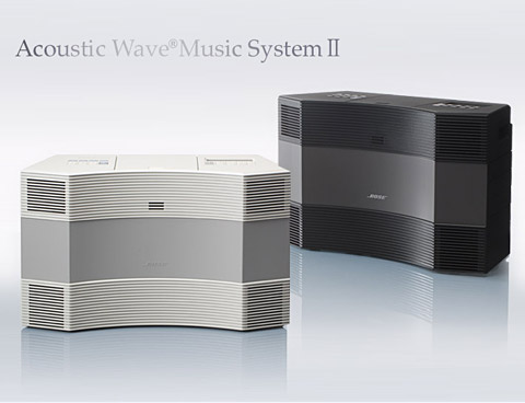 bose acoustic wave music system ii 4. Black Bedroom Furniture Sets. Home Design Ideas